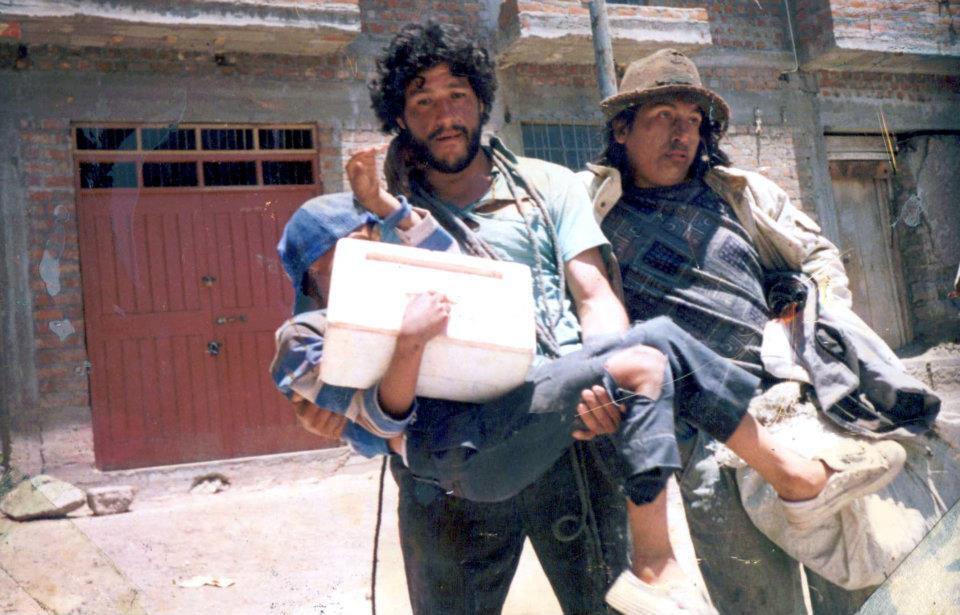 Pelicula Lagrimas de fuego - Ayacucho, 1996