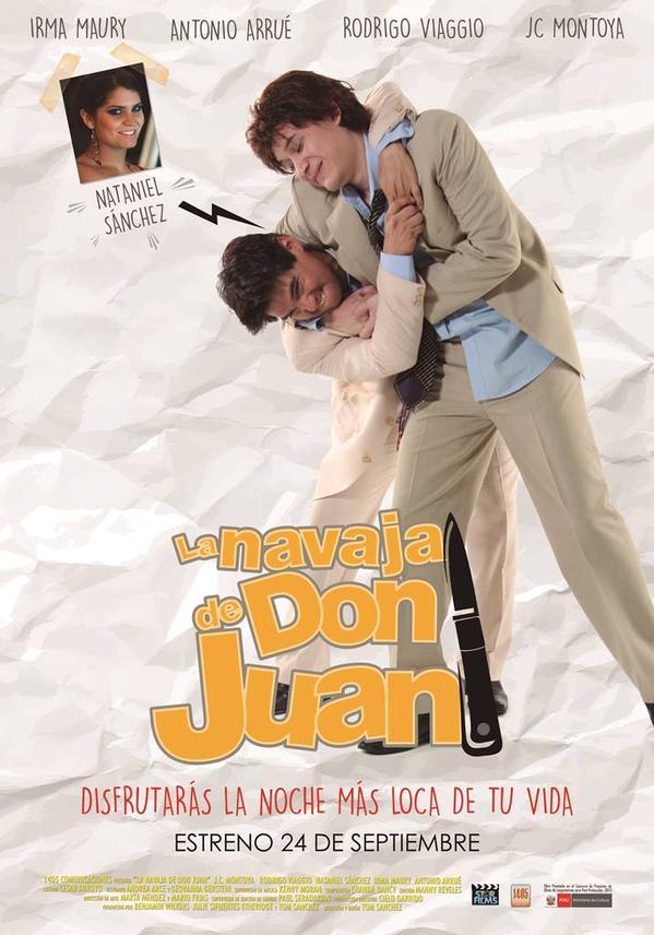 """La navaja de Don Juan"""", pel�cula con Nataniel S�nchez se estrena ..."""