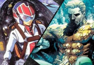 Aquaman y Robotech