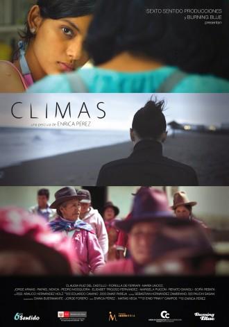 Climas, afiche