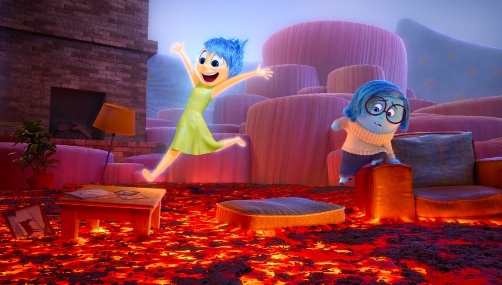 Inside Out Alegria y Tristeza