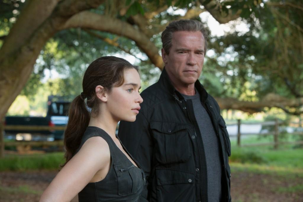 Terminator Genesis - Emilia Clarke Arnold