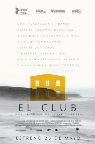 El club, afiche