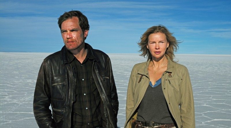 Michael Shannon y Veronica Ferres, en Salt and Fire.