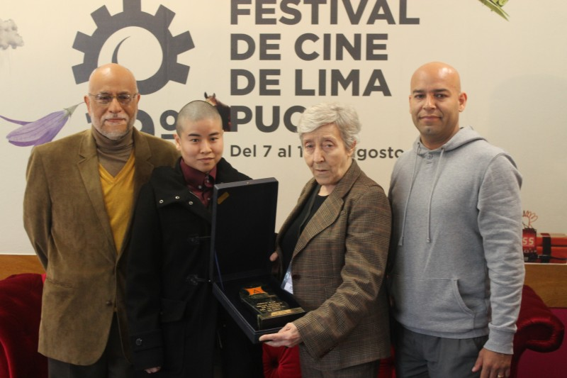 Juan José Beteta, Amy Wong y Raúl Ortiz