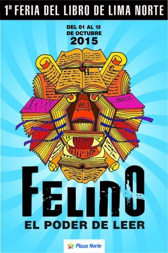 1era Feria del Libro de Lima Norte Afiche