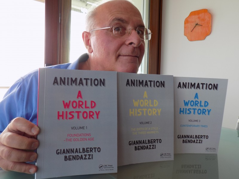 'Animation – A World Story' de Giannalberto Bendazzi