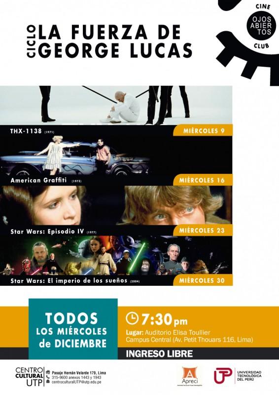 """Ciclo """"La Fuerza de George Lucas"""""""