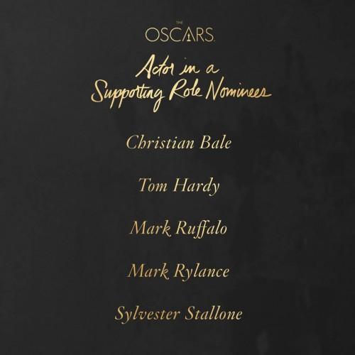 Premos Oscar 2016 Actor Supporting