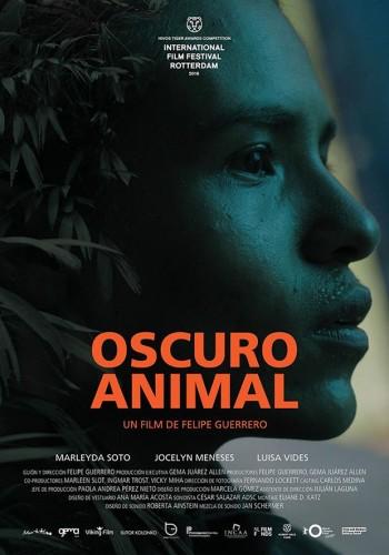 Oscuro-animal, de Felipe Guerrero - poster