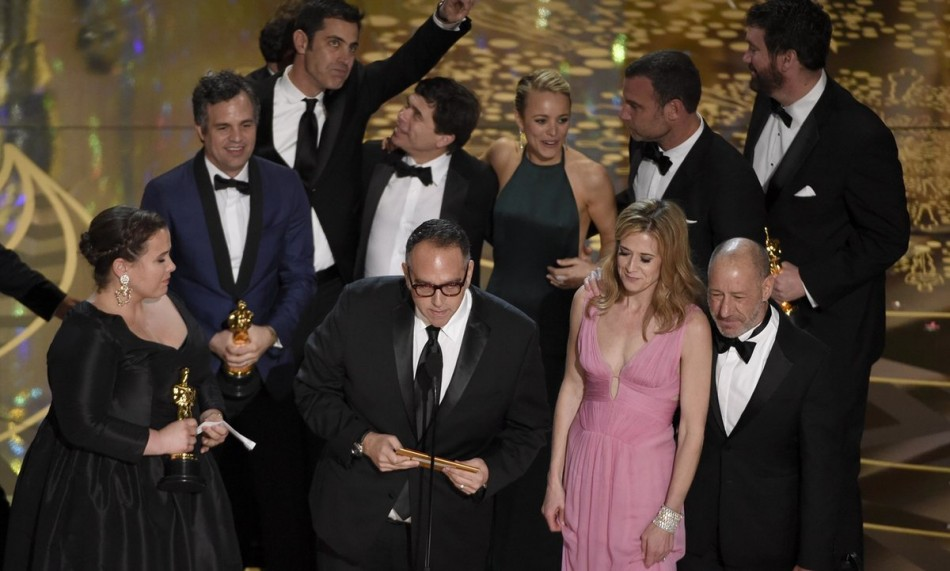Spotlight gana el Oscar 2016