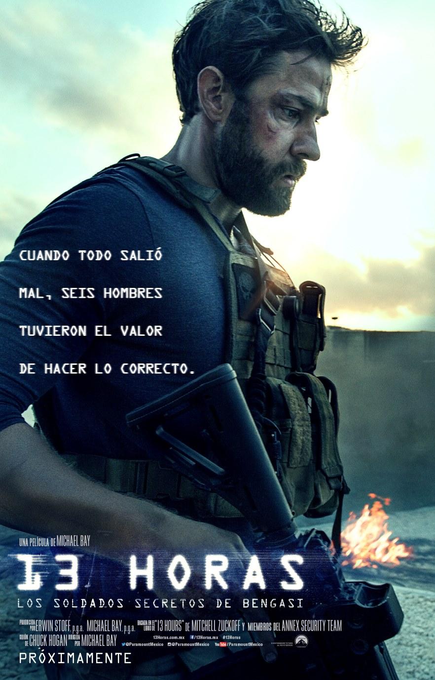 13 Horas: Los Soldados Secretos de Bengasi [DVDRip] [Latino] [1 Link] [MEGA]