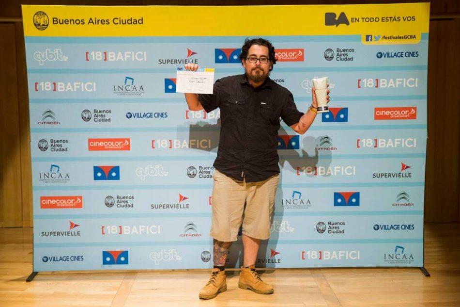 BAFICI 2016 Jonatan Relayze, premiado por Rosa Chumbe