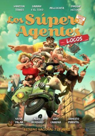 los super agentes locos - poster