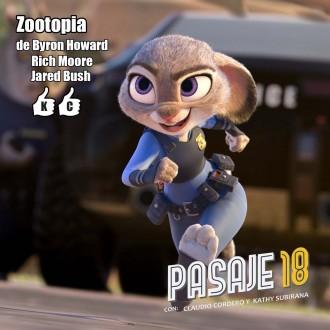 Pasaje 18 - Zootopia