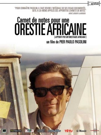 Orestiade africana, Pasolini