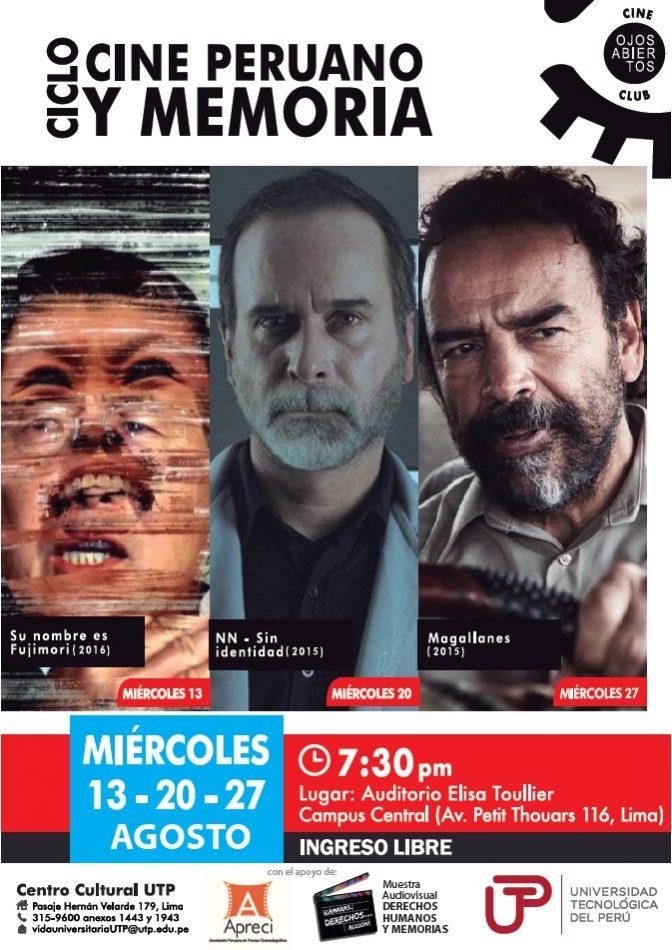 Afiche Cine Peruano y Memoria
