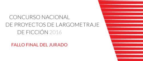 Concursos Largometraje 2016 DAFO