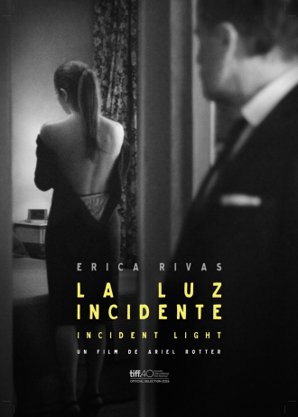 la luz incidente poster