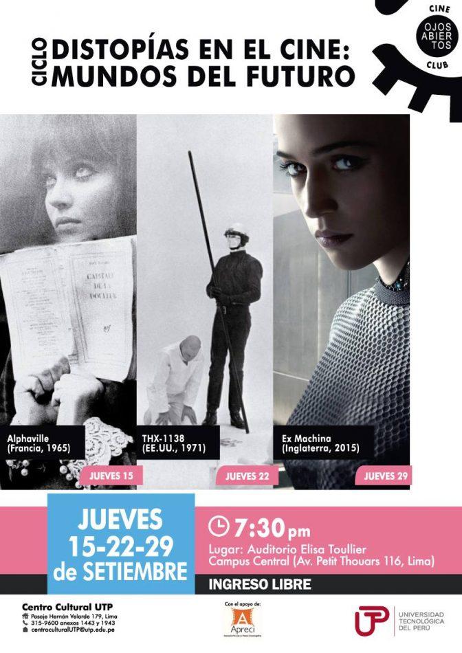 Afiche Cine Distopico