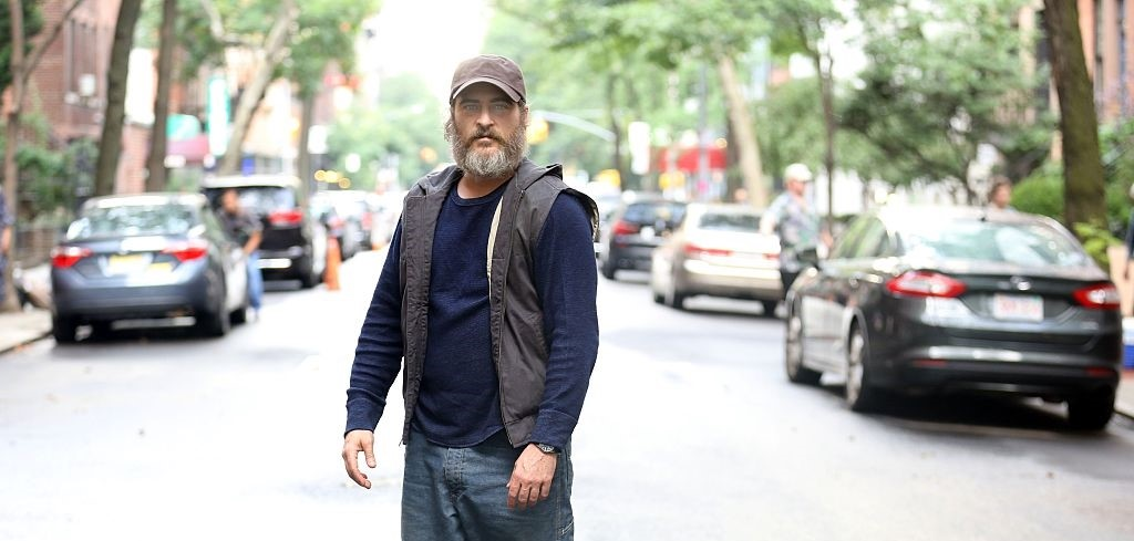 Resultado de imagen de YOU WERE NEVER REALLY HERE