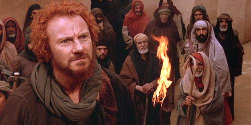 Harvey Keitel compone un Judas fuerte, distinto.