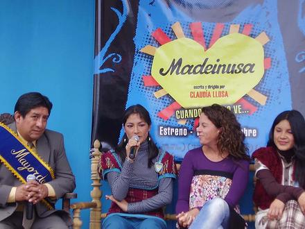 Madeinusa conferencia de prensa