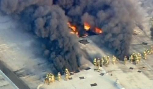 Incendio en Universal Studio