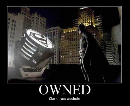 Batman pwned