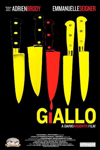 poster giallo dario argento