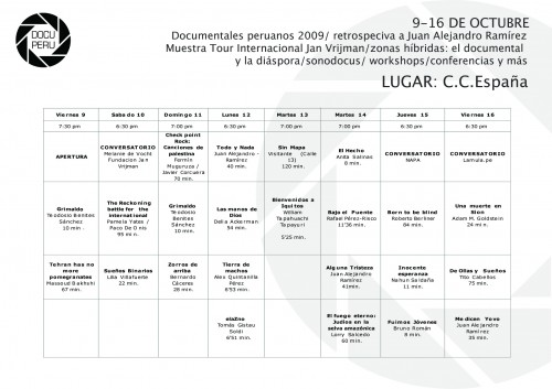 VIII Muestra DIP Programa CCE