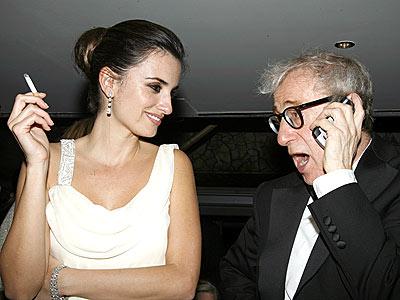 Penelope Cruz y Woody Allen