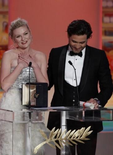 Cannes: Kirsten Dunst mejor actriz