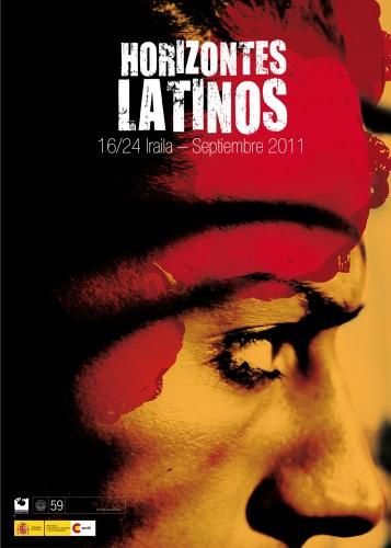 San Sebastian Horizontes latinos 2011 poster