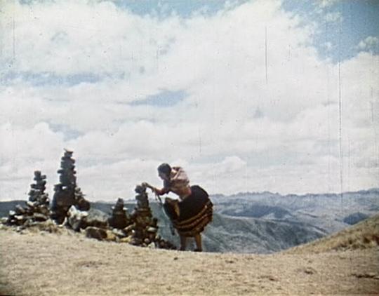 Kukuli apacheta montículo de piedras