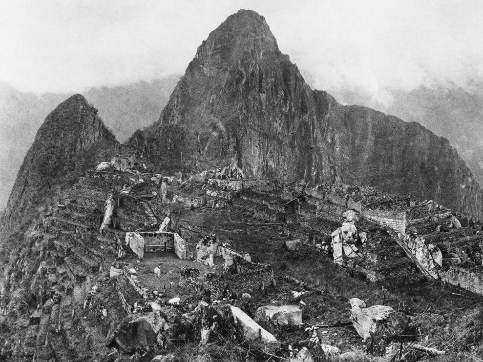 Early Machu Picchu 1912