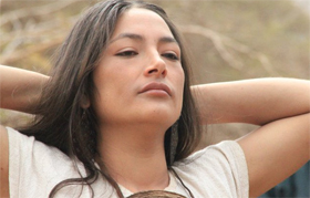 Magaly Solier pelicula italiana en Iquique, Chile