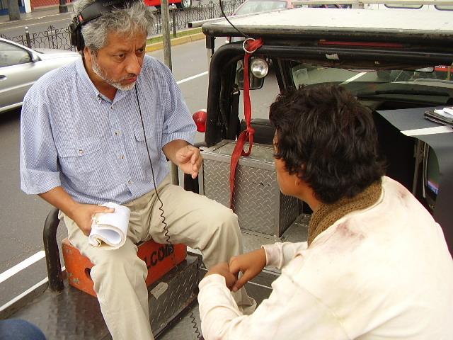 Ronnie Temoche y Manuel Baca