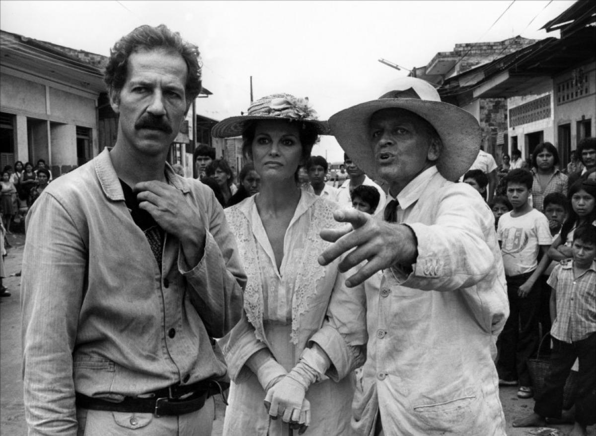 Rodaje de 'Fitzcarraldo', de Werner Herzog