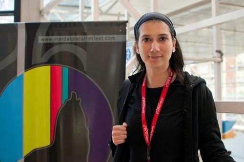 Rosario García-Montero en el 26 Festival de Mar del Plata