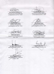Carta Congresista Julio Rosas - Ley de Cine Peru