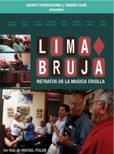 Lima Bruja - afiche