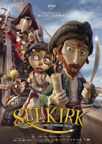 Selkirk, el verdadero Robinson Crusoe - poster