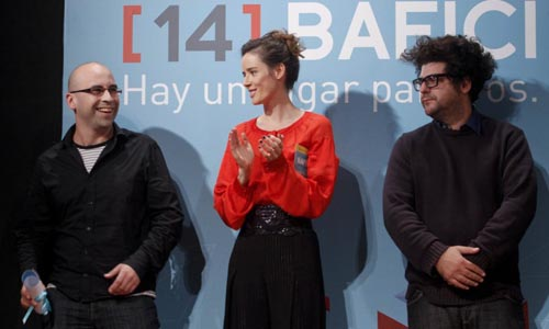 Bafici 2012 - premio a Maximiliano Schonfeld