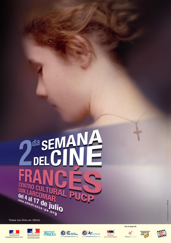 2da Semana de Cine Frances - afiche