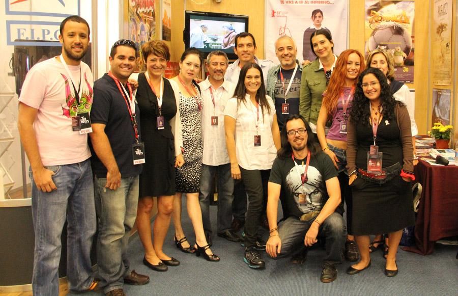 Delegacion peruana - Festival Guadalajara 2012