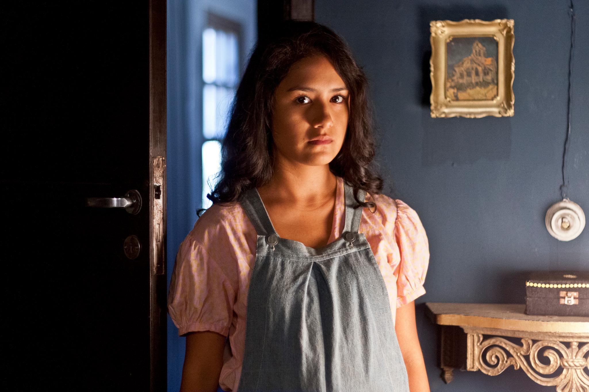 Mayella Lloclla en 'Vientre', de Daniel Rodriguez