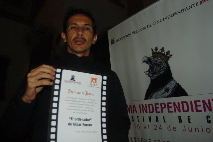 Omar Forero - El ordenador - premiado en Festival Lima Independiente 2012
