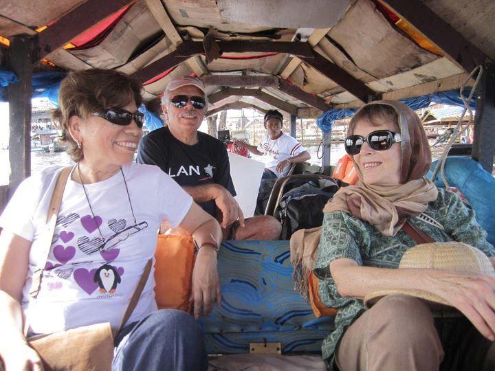 Rodaje de 'Responso para un abrazo', documental Nora de Izcue