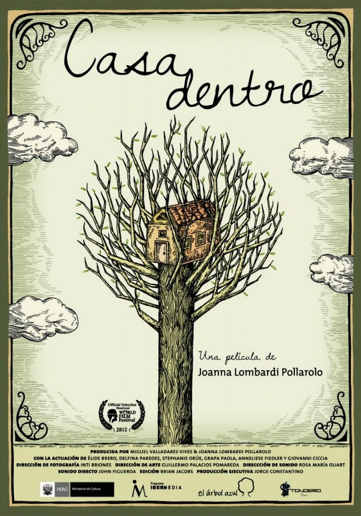 Casadentro, de Joanna Lombardi - afiche